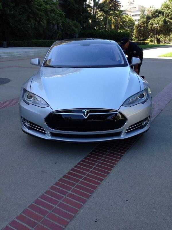 An all-electric ride from Tesla runs about $70,000, but a $10,000 rebate is also available.