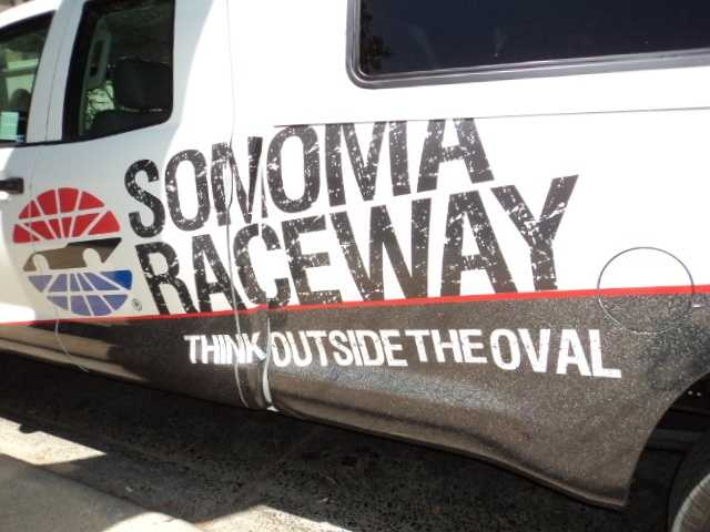 """Sonoma Raceway encourages everyone to """"Think Outside The Oval."""""""