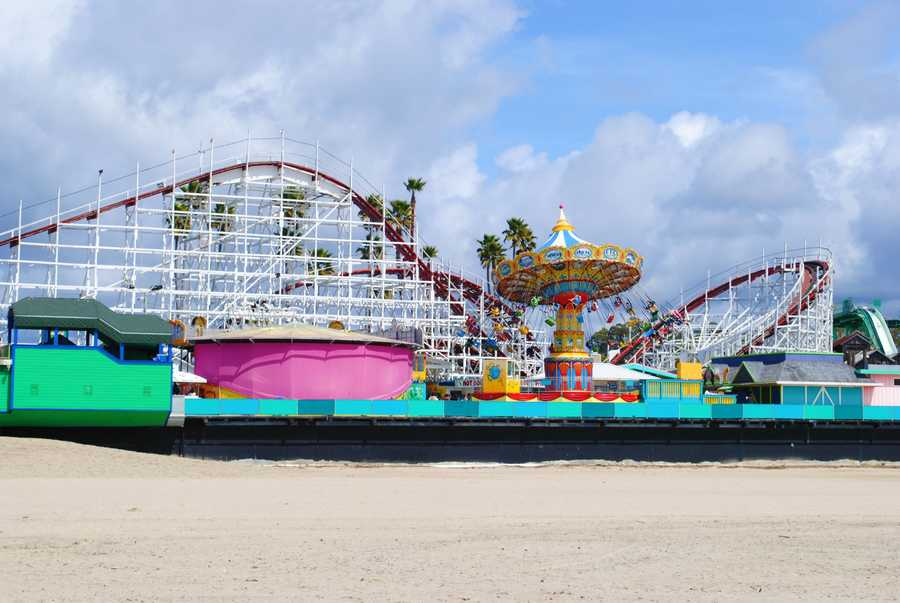 Santa Cruz CountyVisitor-generated sales tax receipts: $19,400,000Things to do: Take the family to Santa Cruz Beach Boardwalk where everyone can enjoy rides, the beach, free movies every Wednesday and live musical performances.