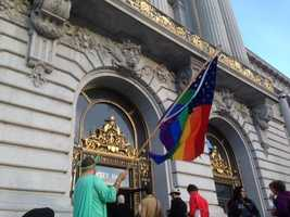 The Supreme Court ruled Wednesday in a 5-4 opinion that those who brought the Prop. 8 case before the court have no legal standing, clearing the way for same-sex marriage to resume in California. Take a look back at California's history with same-sex marriage.