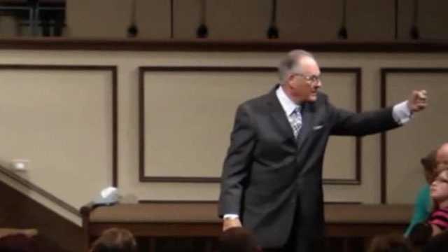 Oklahoma pastor rant
