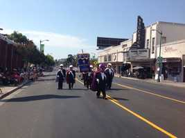 Stockton's 4th of July Parade was held at the Miracle Mile Thursday. (July 4, 2013)