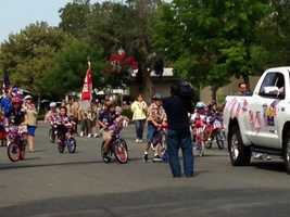 A Fourth of July parade is held in Galt. (July 4, 2013)