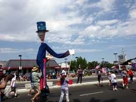 A Fourth of July parade in Carmichael. (July 4, 2013)