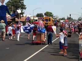 Click through this slideshow to see photos from Fourth of July celebrations across Northern California.