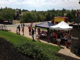 A Fourth of July block party in Rocklin. (July 4, 2013)