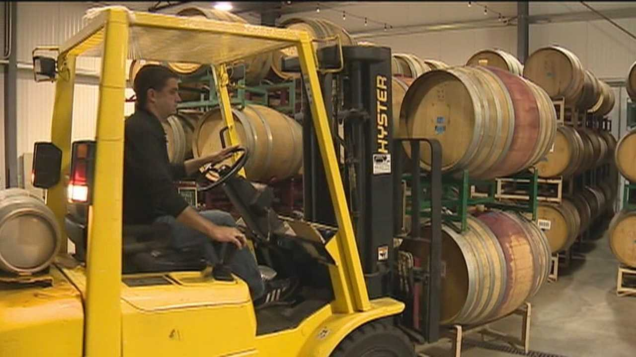 A winery got a notice from the state that it had to pay a portion of the unemployment for a woman who worked for the winery last season for just one day.