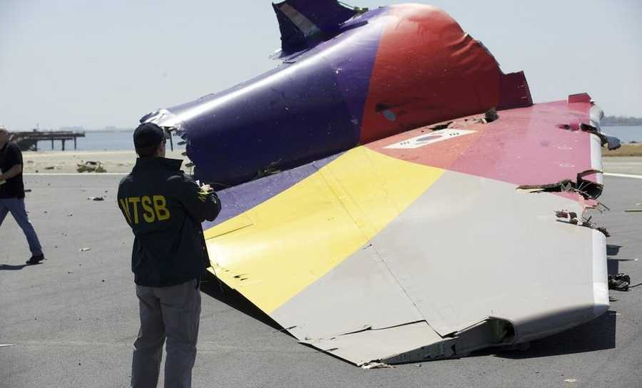 Two people died when Asiana Airlines Flight 214 crashed on a runway at San Francisco International Airport on Saturday.