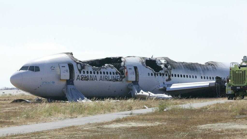 The National Transportation Safety Board took the following photos as part of its investigation into Saturday's Asiana Airlines plane crash.
