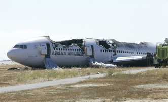 """At least 182 passengers and crew members were injured, including two survivors who were left with paralysis. Many of the injuries included broken bones, burns and """"road rash."""""""