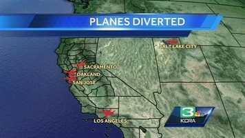 SFO was shut down immediately after the crash. Flights were diverted to other regional airports, including Sacramento International Airport. Two runways at SFO reopened at 3:28 p.m. Saturday.