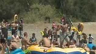 "In 2012, the ""Rafting Gone Wild"" event resulted in multiple arrests."