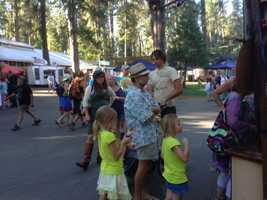 Organizers are proud that WorldFest is family friendly (July 12, 2013).