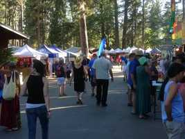 WorldFest grounds are sprawling in Grass Valley (July 12, 2013).