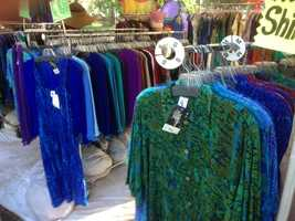 Vendors brought many different kinds of products to the Grass Valley event (July 12, 2013).
