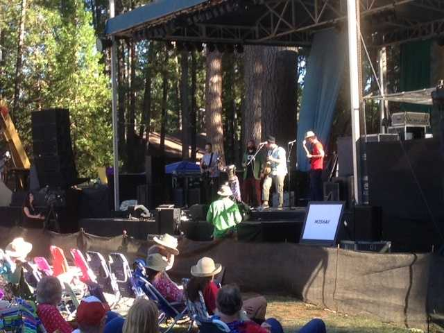 The Moshav Band performs Friday at WorldFest in Grass Valley (July 12, 2013).