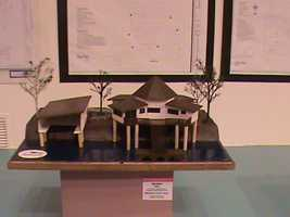 In the Industrial & Technology Education building, modeling, drafting and fabrication are among many other areas of study on display.