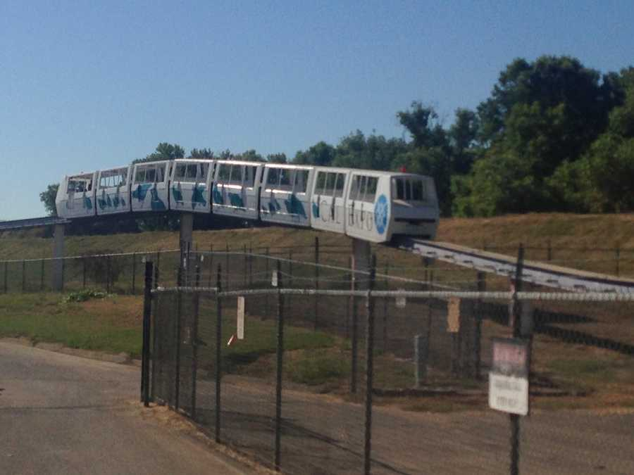 The Cal Expo monorail that lost power and left 38 people stuck was moved back to a maintenance shop Thursday.