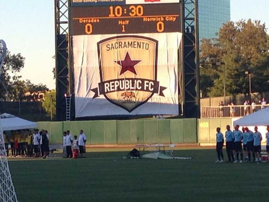The name for Sacramento's new professional soccer team is Republic FC.