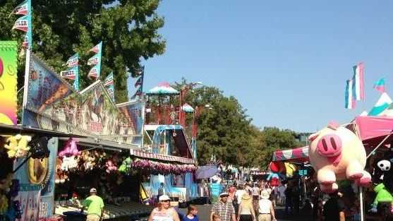 Midway at California State Fair