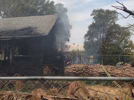 Two people died Monday as a result of afire near French Road in Sacramento County, officials said.