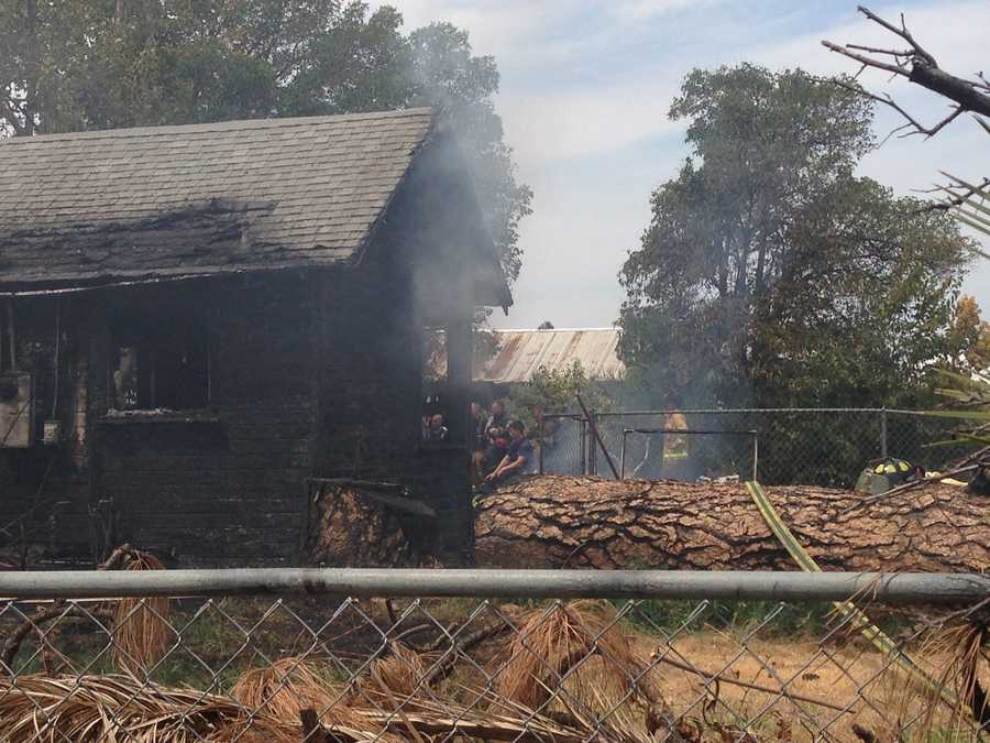 Two people died Monday as a result of a fire near French Road in Sacramento County, officials said.
