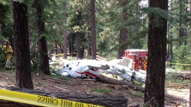 South Lake Tahoe plane crash