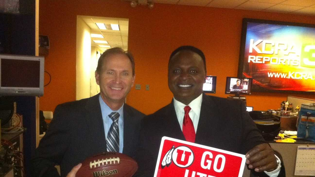 3.) I attended the University of Utah at the same time as Del Rodgers. There are about 20,000 undergrad students, and needless to say, Del and I didn't know each other when we were students. Football players and meteorologists didn't exactly hang out.