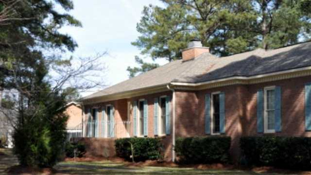 The home in Macon, Ga., where Barbara Titus moved from in June.