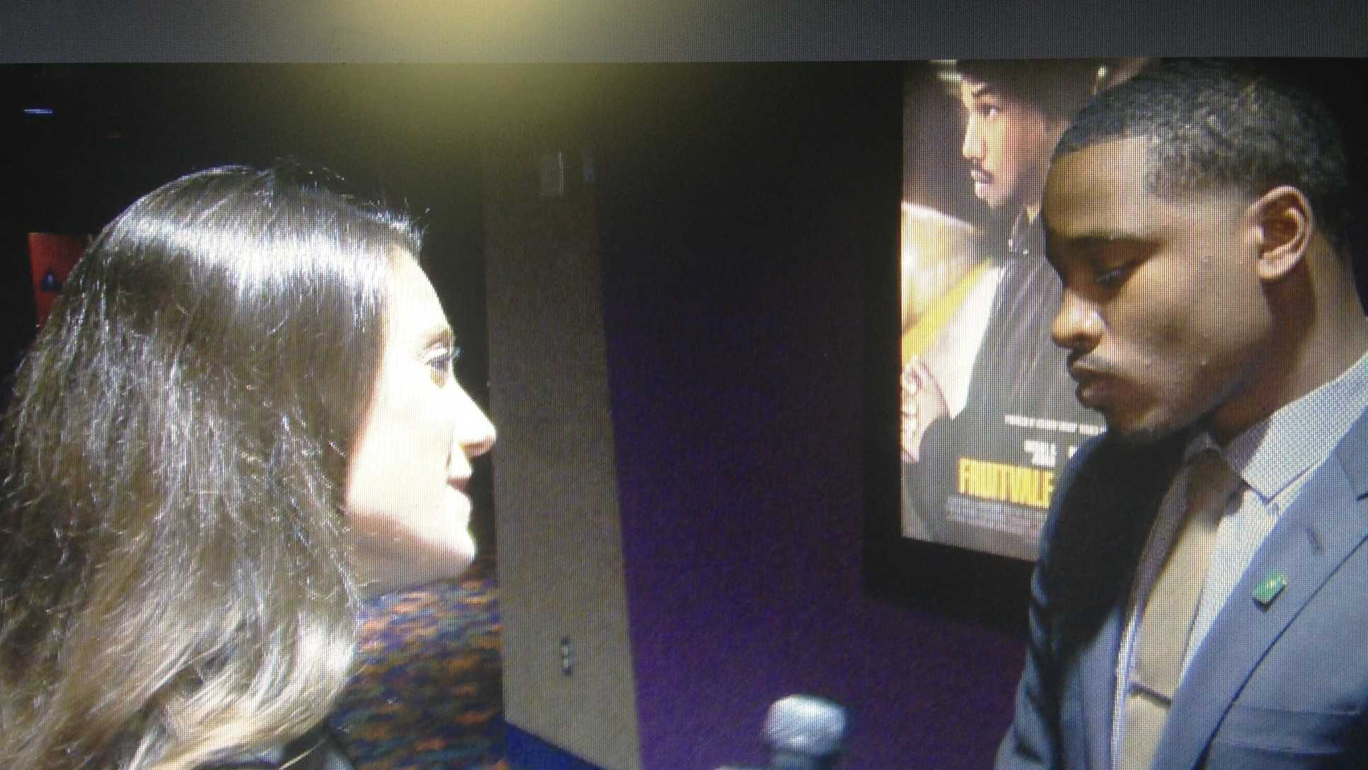 "KCRA 3's Mallory Hoff interviews Ryan Coogler, the award-winning director of ""Fruitvale Station"" (July 23, 2013)."