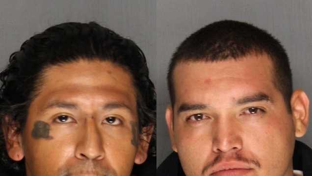 Two of the burglary suspects (third not pictured&#x3B; no mugshot available).