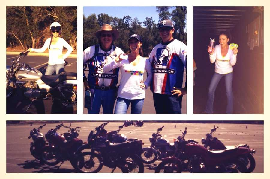 A three-day weekend learning how to ride was awesome. I had to make a pic for Facebook.