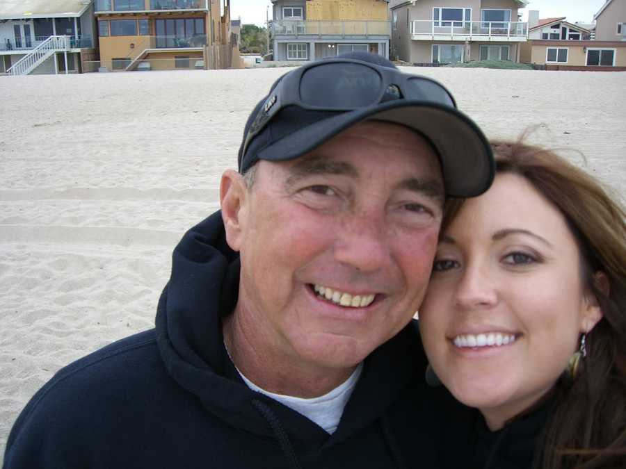 One of the first rides with my dad. We took a pit stop at the beach at the Channel Islands.