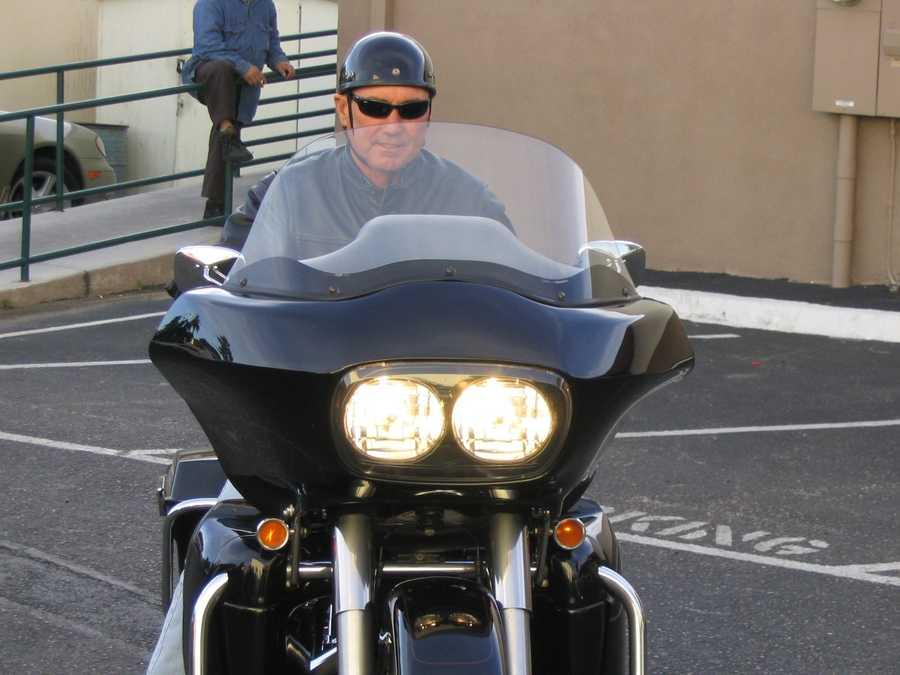 My dad found so much joy in riding.