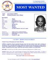 Larry Porter ChismWanted on charges of: Chism was serving a multiple sentences for armed robbery, narcotics violation, kidnapping and airplane hijacking. Chism escaped from Lonoke County Jail in Arkansas in 1978.Click here to see full wanted poster