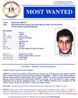 Raymond AbbottWanted on charges of: Federal firearms violations and escaping a detention facility.Click here to see full wanted poster
