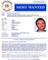 Frederick McLeanWanted on charges of: Child molestationClick here to see full wanted poster