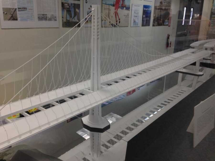 Anchor rod testing took place Friday at the Bay Bridge (Aug. 2, 2013).