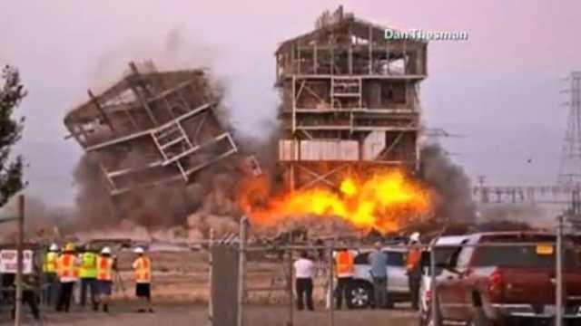 CA power plant implosion