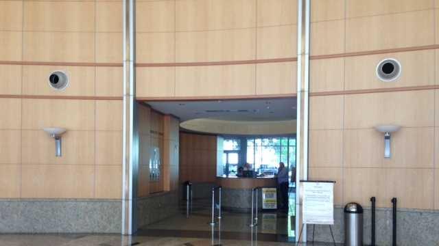 Sacramento City Hall lost power Monday afternoon (Aug. 5, 2013).