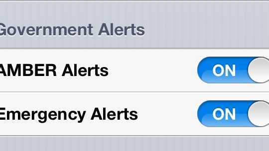 how to turn off alerts