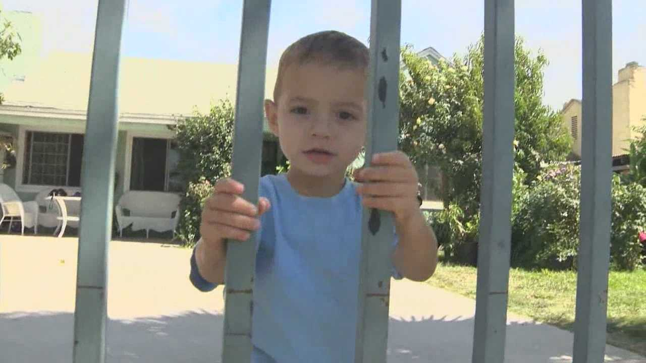 A 2-year-old Modesto boy wandered away from his day care, and his mother is disturbed no one noticed.