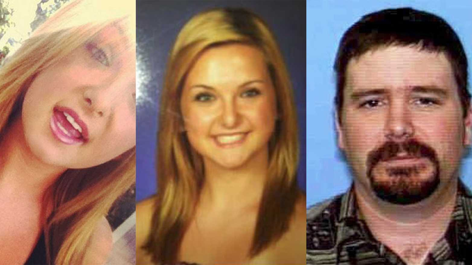 James Lee DiMaggio, right, is accused of kidnapping 16-year-old Hannah Anderson, left, after murdering her mother.