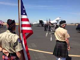 A soldier from Red Bluff who was killed in Afghanistan by enemy forces was honored Monday in Lincoln.