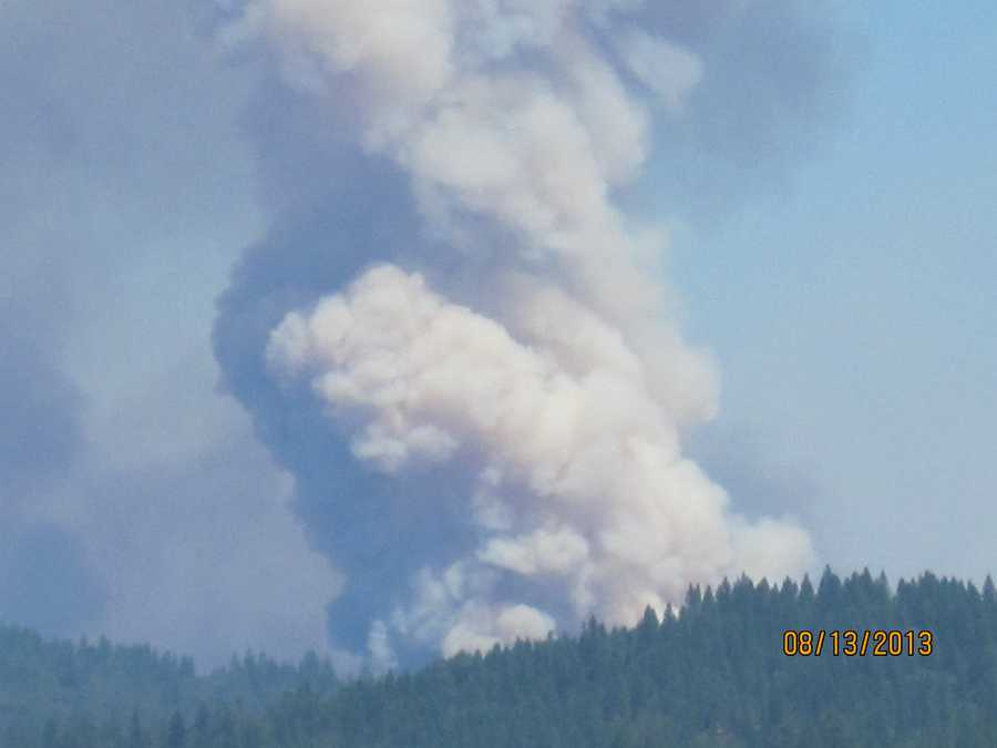 The fire ignited on Aug. 10 in the Deadwood Ridge area, north of Foresthill.