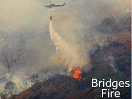 See photos from the Bridges Fire