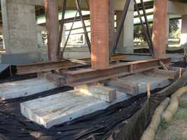 An ultrasonic inspection in June revealed weaknesses in two spots of the Pioneer Bridge, the section of Capital City Freeway that crosses the Sacramento River, the state transportation agency said Tuesday (Aug. 20, 2013).