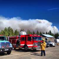 As of Tuesday, the blaze is 62 percent contained.
