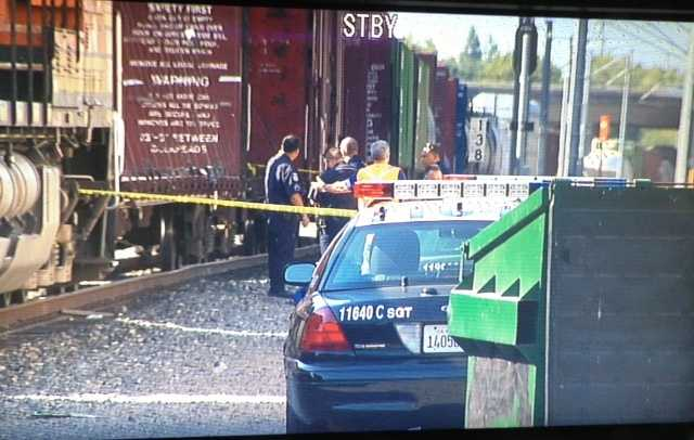 Authorities are investigating the death of a pedestrian who was struck by a train in Sacramento.