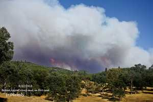 The Rim Fire grows to more than 105,000 acres Friday.